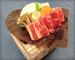 厚朴叶烤牛肉