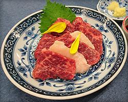 Supreme horse sashimi